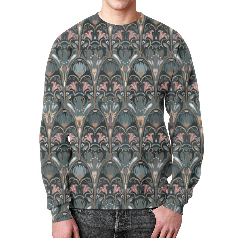 Свитшот унисекс с полной запечаткой Printio Модный флоральный паттерн милитари (1) в минске рубашку милитари