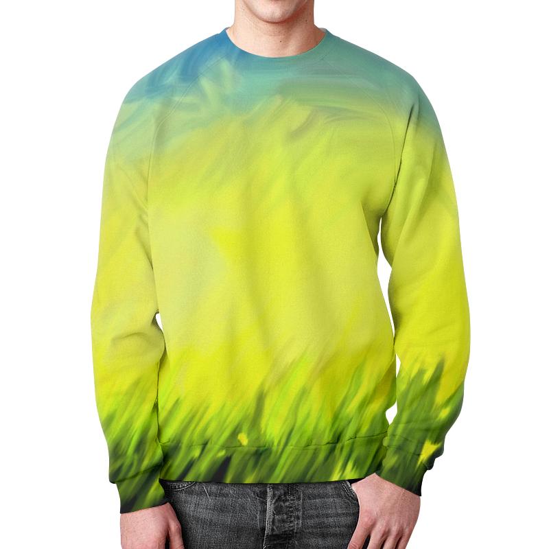 Свитшот мужской с полной запечаткой Printio Краски лета цена