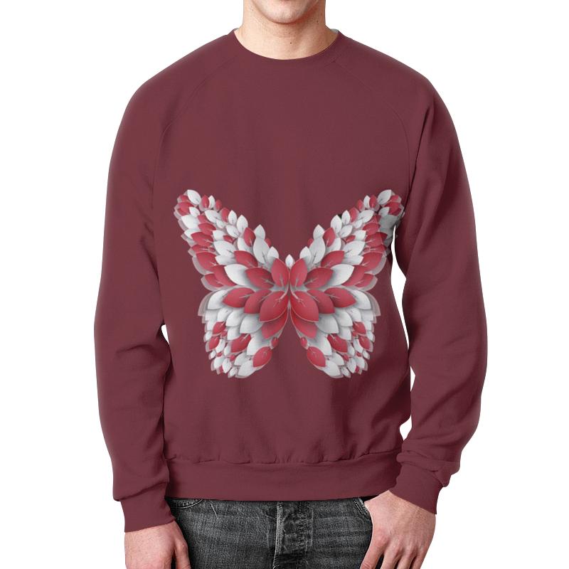Свитшот мужской с полной запечаткой Printio Бабочка бабочки magnetiq галстук бабочка