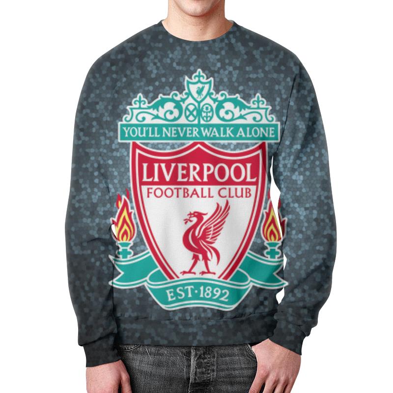 Свитшот унисекс с полной запечаткой Printio Liverpool (ливерпуль) boyzone liverpool