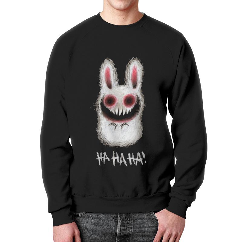 Printio Rabbit свитшот мужской с полной запечаткой printio провилактика