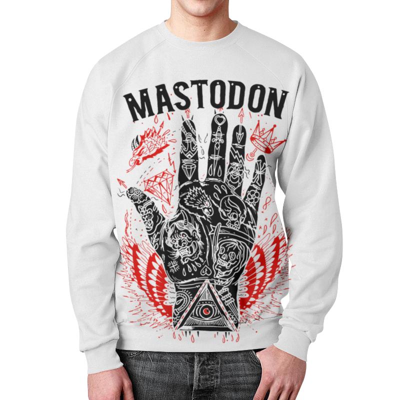Фото - Свитшот мужской с полной запечаткой Printio Mastodon свитшот унисекс с полной запечаткой printio алфавит