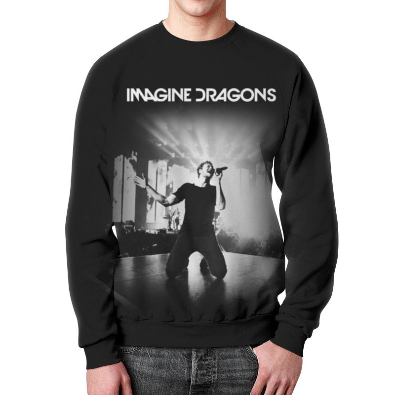 Свитшот унисекс с полной запечаткой Printio Imagine dragons imagine dragons москва