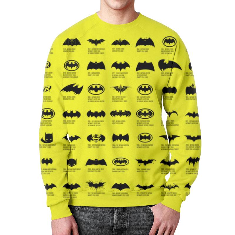 Свитшот мужской с полной запечаткой Printio Бетмен толстовка с полной запечаткой printio бетмен