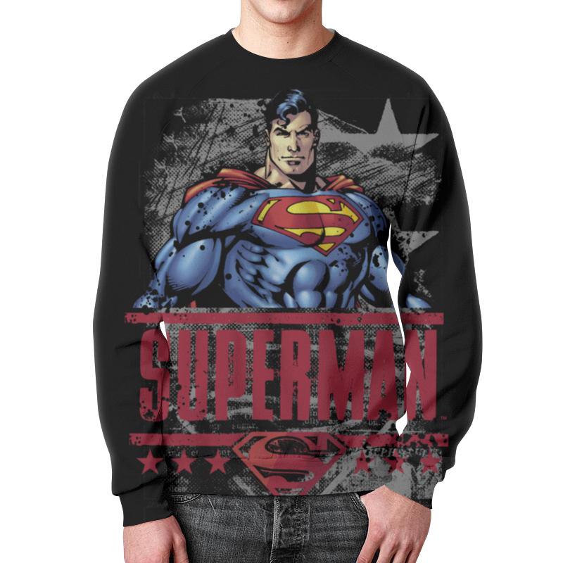 Фото - Свитшот мужской с полной запечаткой Printio Супермен свитшот унисекс с полной запечаткой printio алфавит