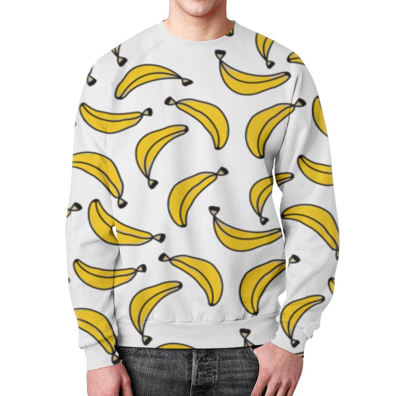 Фото - Свитшот мужской с полной запечаткой Printio Бананы свитшот унисекс с полной запечаткой printio алфавит