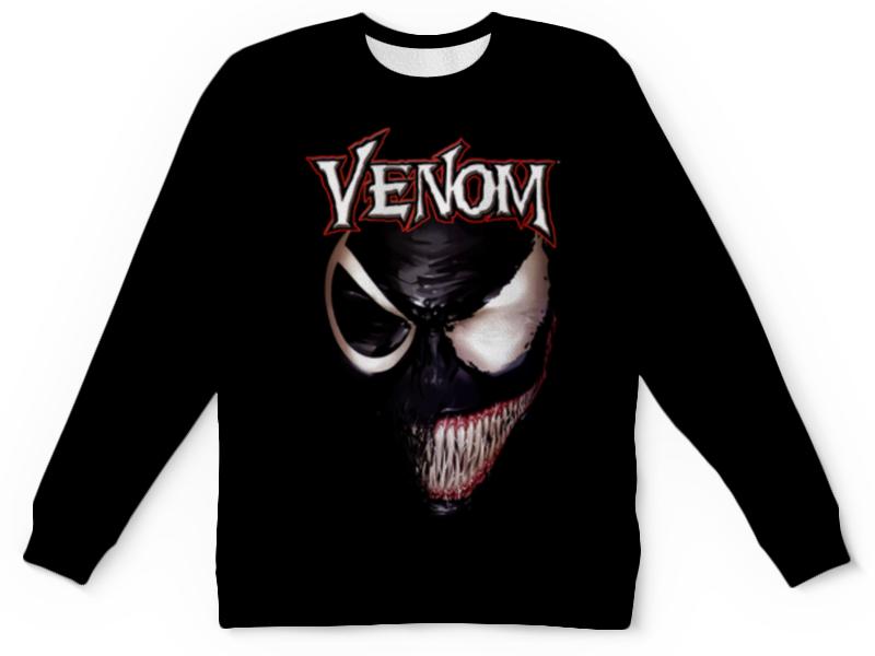 Свитшот унисекс с полной запечаткой Printio Веном (venom) женские джинсы women jeans dk ] 2015 0165