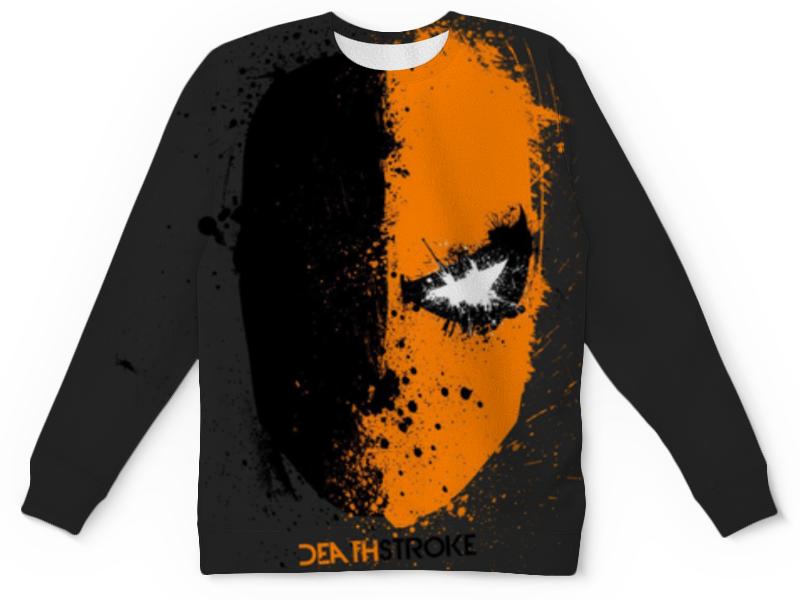 Свитшот унисекс с полной запечаткой Printio Death stroke (дефстроук) футболка с полной запечаткой для мальчиков printio дефстроук ликвидатор