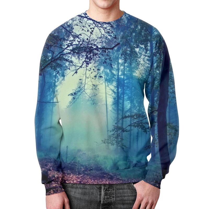 Свитшот унисекс с полной запечаткой Printio Сумрачный лес свитшот унисекс с полной запечаткой printio тёмный лес