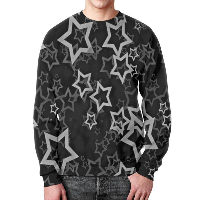 Свитшот мужской с полной запечаткой Printio Звезды свитшот унисекс с полной запечаткой printio звезды