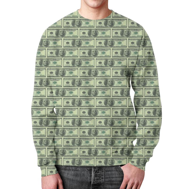Свитшот унисекс с полной запечаткой Printio Доллар футболка с полной запечаткой для девочек printio доллар