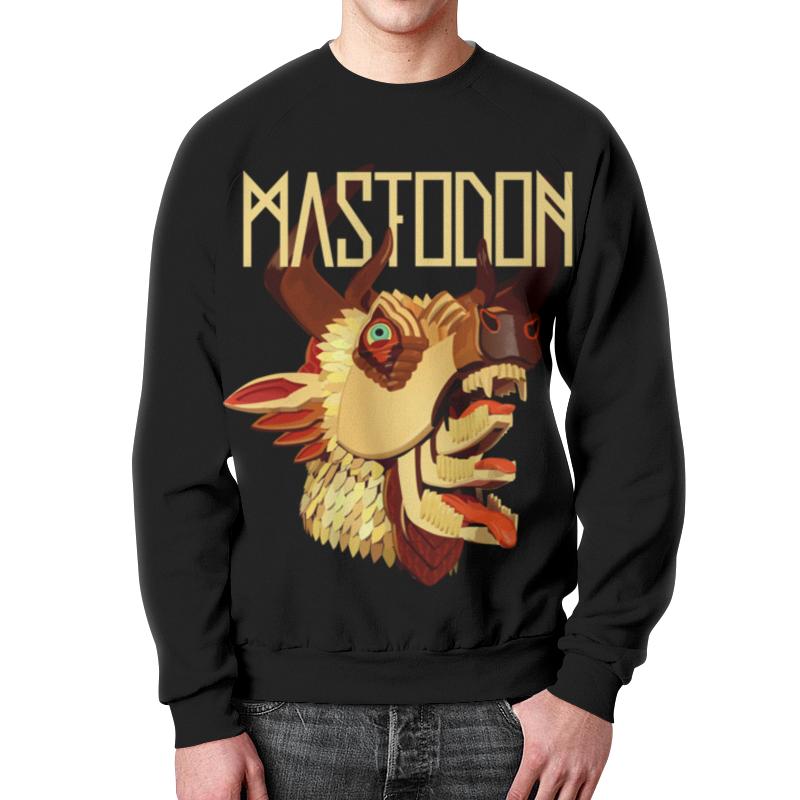 Свитшот унисекс с полной запечаткой Printio Mastodon