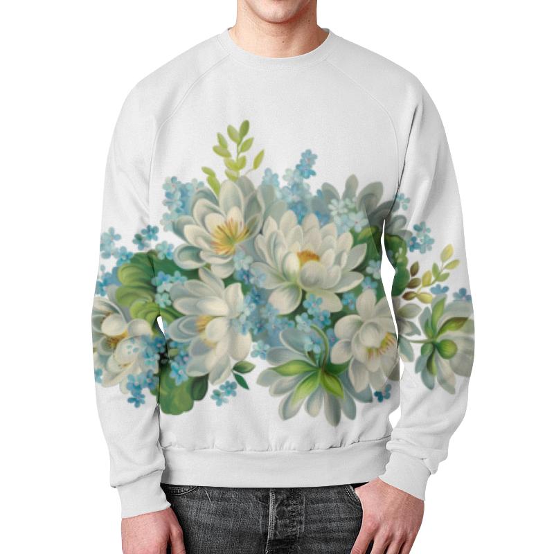 Свитшот мужской с полной запечаткой Printio Ты цветы свитшот мужской с полной запечаткой printio цветки