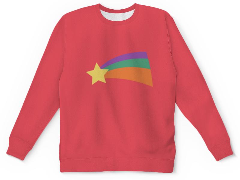 футболка с полной запечаткой для девочек printio мейбл Свитшот унисекс с полной запечаткой Printio Мейбл