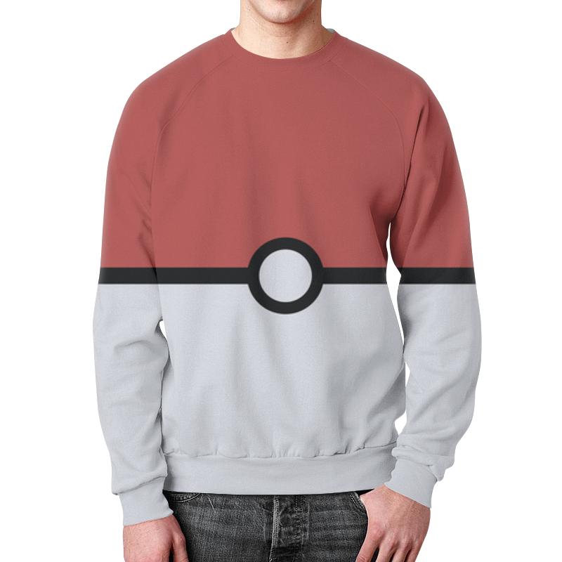Printio Pokemon свитшот мужской с полной запечаткой printio pokemon go