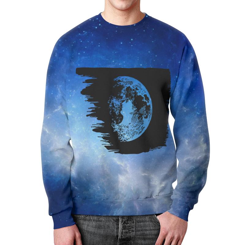 Свитшот унисекс с полной запечаткой Printio Планета свитшот print bar планета сокровищ
