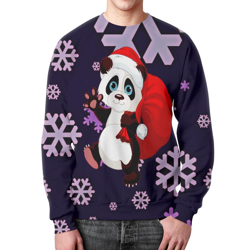 Свитшот мужской с полной запечаткой Printio Панда свитшот унисекс с полной запечаткой printio мишки панда