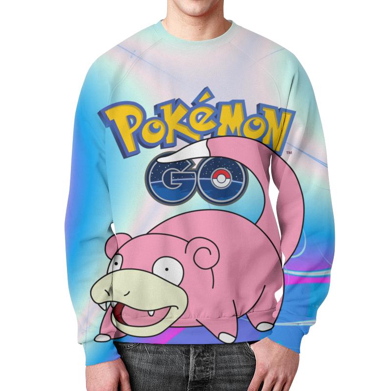 все цены на Свитшот мужской с полной запечаткой Printio Pokemon go