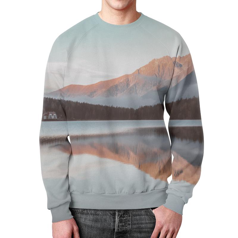Свитшот унисекс с полной запечаткой Printio Дом у озера футболка с полной запечаткой мужская printio дом у озера