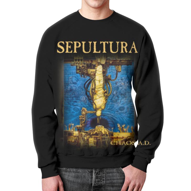 Свитшот мужской с полной запечаткой Printio Sepultura printio свитшот мужской с полной запечаткой