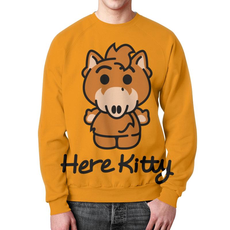 Свитшот мужской с полной запечаткой Printio Hello kitty