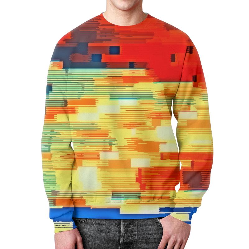 Свитшот мужской с полной запечаткой Printio Pixel color свитшот print bar pixel ezio