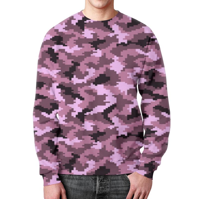 Свитшот мужской с полной запечаткой Printio Фиолетовый камуфляж свитшот мужской с полной запечаткой printio камуфляж