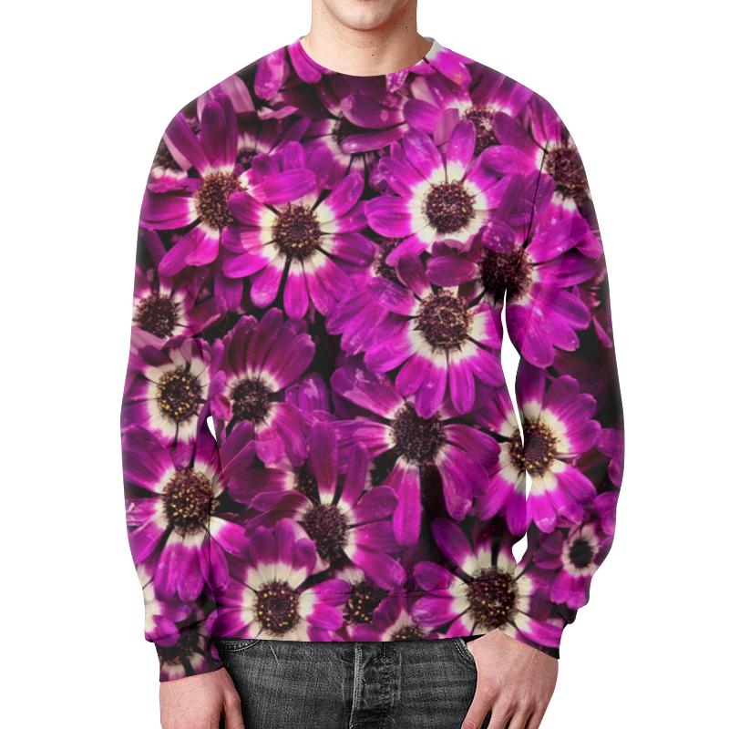 Фото - Свитшот мужской с полной запечаткой Printio Цветы свитшот унисекс с полной запечаткой printio алфавит