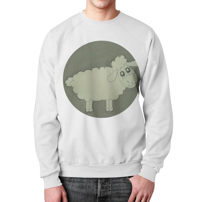 Свитшот мужской с полной запечаткой Printio Свитшот овечка