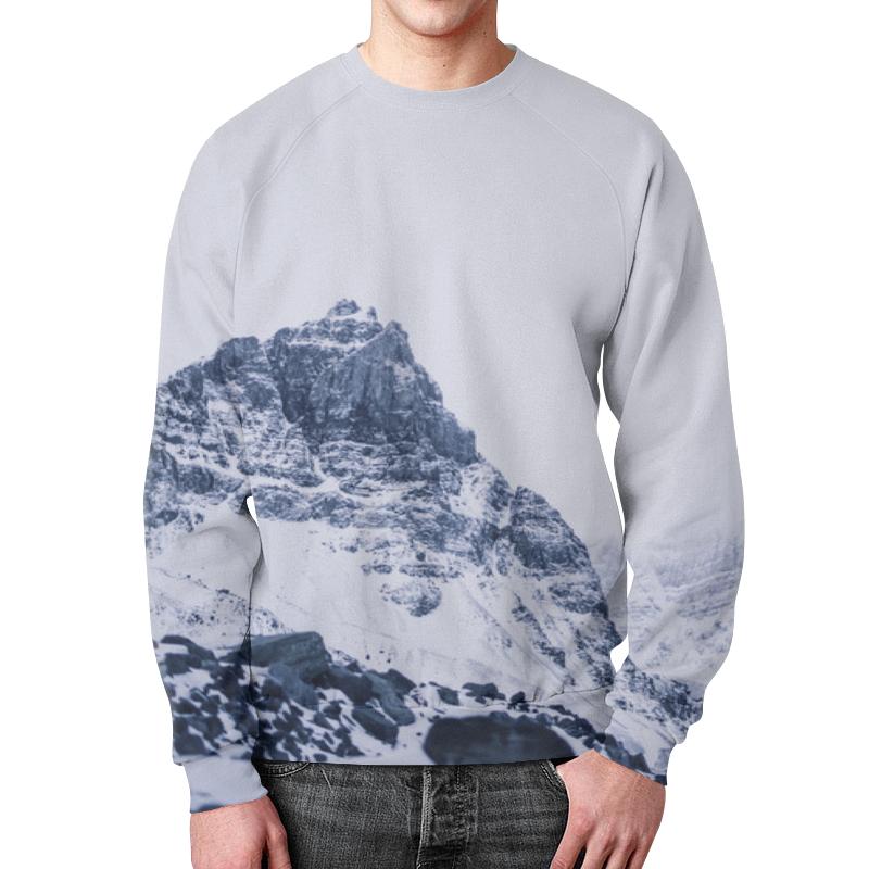 цена Printio Снежные скалы онлайн в 2017 году