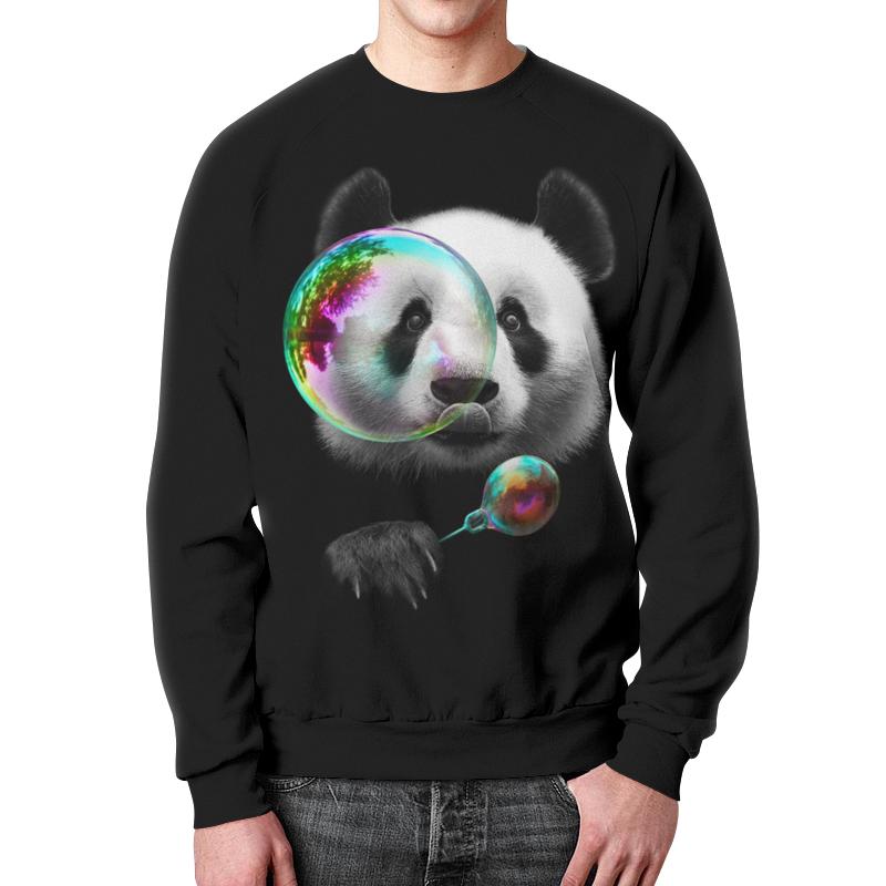 Свитшот мужской с полной запечаткой Printio Панда свитшот унисекс с полной запечаткой printio панда коп