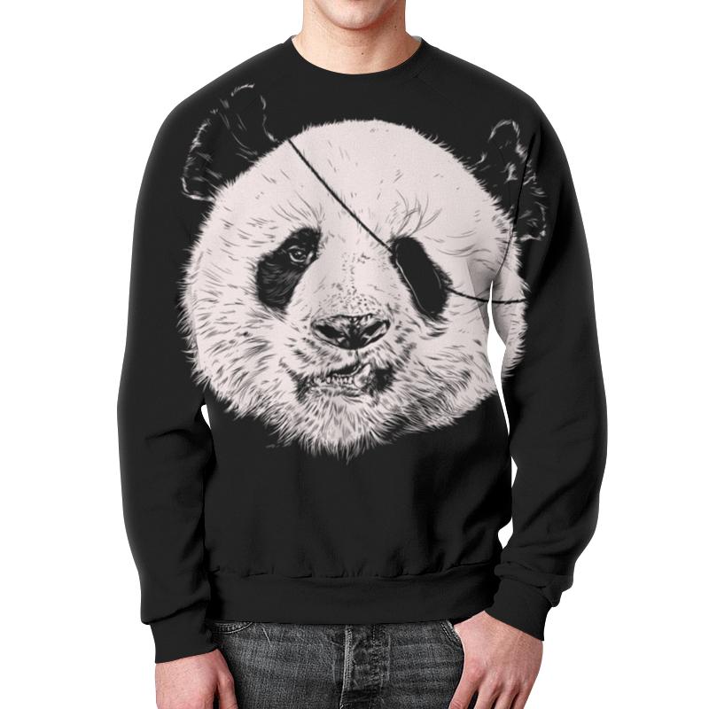 Свитшот унисекс с полной запечаткой Printio Панда пират свитшот унисекс с полной запечаткой printio панда
