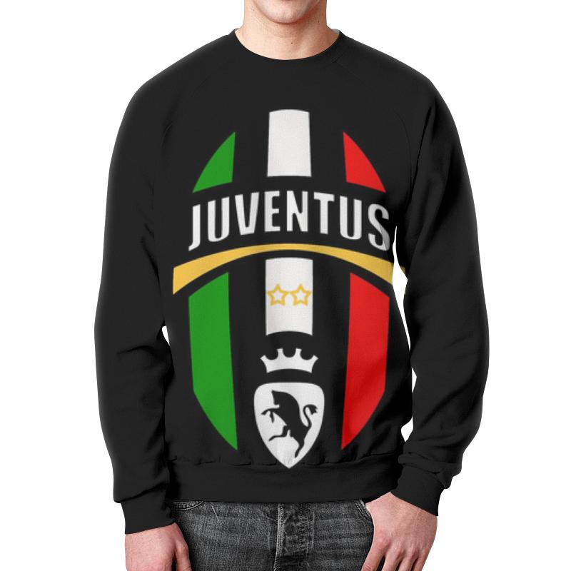 Свитшот мужской с полной запечаткой Printio Ювентус (juventus) футболка ювентус
