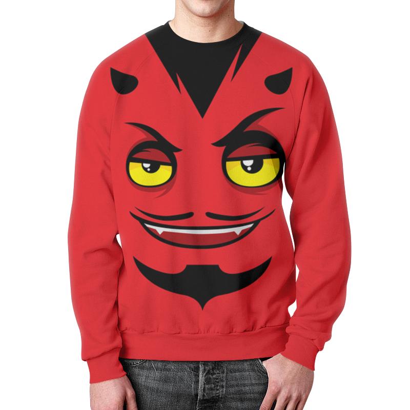 Свитшот унисекс с полной запечаткой Printio Monster face