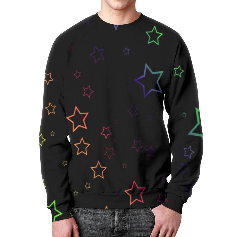 Свитшот мужской с полной запечаткой Printio Звезды свитшот print bar 1994 рождение новой звезды