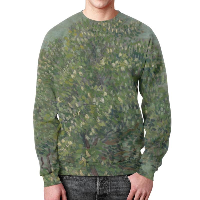 Свитшот унисекс с полной запечаткой Printio Каштан в цвету (винсент ван гог) футболка с полной запечаткой для мальчиков printio ван гог