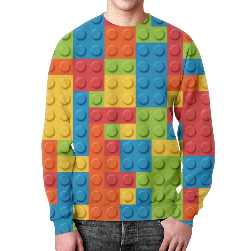 Свитшот мужской с полной запечаткой Printio Лего