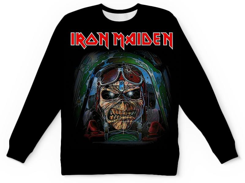 Свитшот унисекс с полной запечаткой Printio Iron maiden band cd iron maiden a matter of life and death