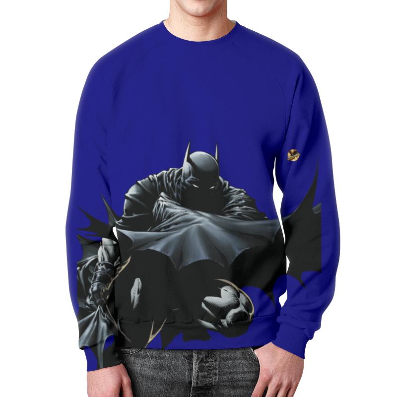 Свитшот мужской с полной запечаткой Printio Бэтмен