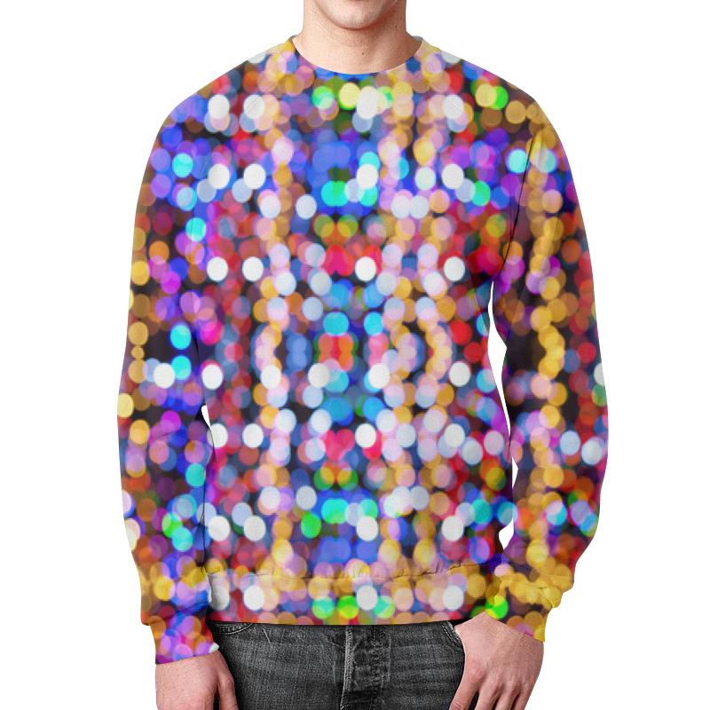 Свитшот мужской с полной запечаткой Printio Игра цветов свитшот мужской с полной запечаткой printio весенний вальс цветов