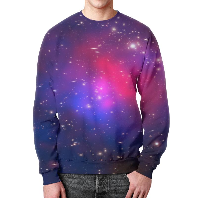 Свитшот мужской с полной запечаткой Printio Звезды космоса свитшот print bar 1994 рождение новой звезды
