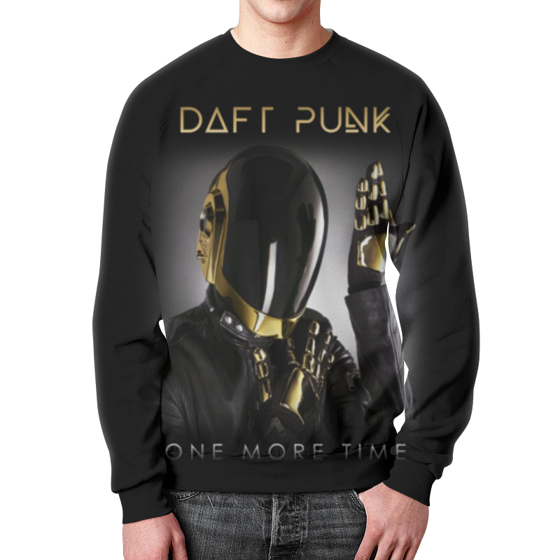 Свитшот унисекс с полной запечаткой Printio Daft punk валентин пикуль николаевские монте кристо
