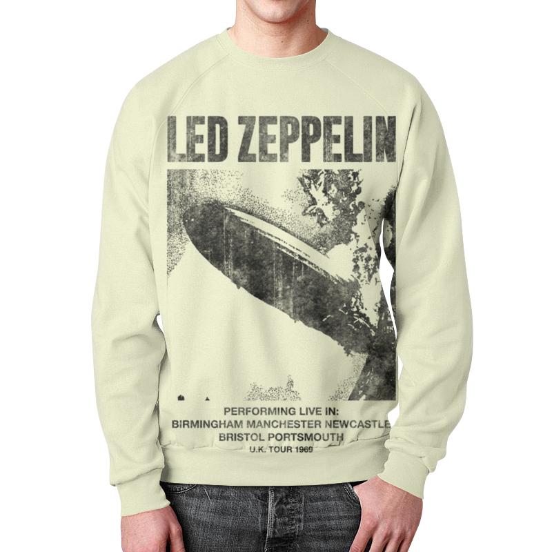 Свитшот мужской с полной запечаткой Printio Led zeppelin bl fp200d de 3797610800 100% original lamp with housing for optoma ep771 tx771 dx607 projector