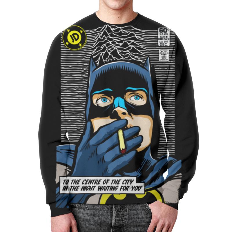 Свитшот мужской с полной запечаткой Printio Бэтмен цены онлайн