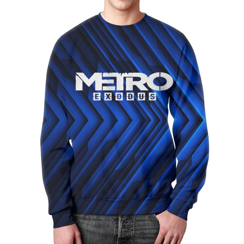 Фото - Свитшот мужской с полной запечаткой Printio Metro свитшот унисекс с полной запечаткой printio алфавит
