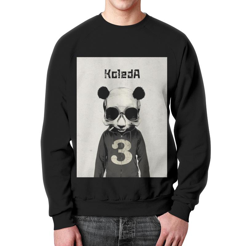 Printio Panda свитшот мужской с полной запечаткой printio провилактика