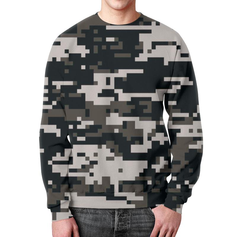 Свитшот мужской с полной запечаткой Printio Urban camouflage xintown camouflage winter long sleeved