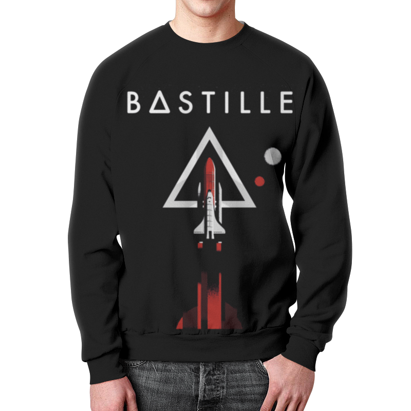 Свитшот мужской с полной запечаткой Printio Bastille bastille taipei