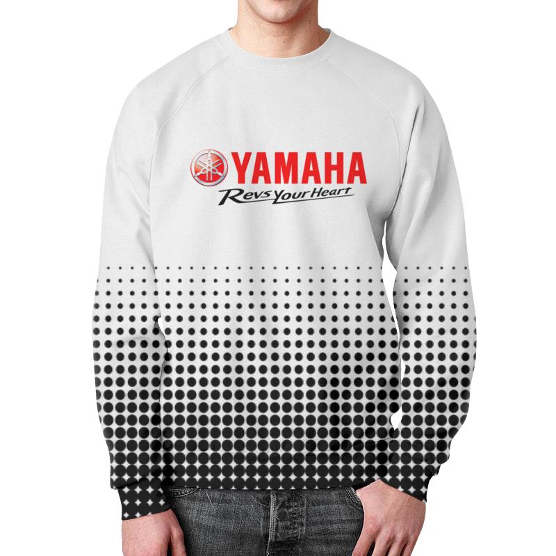 Свитшот мужской с полной запечаткой Printio Yamaha