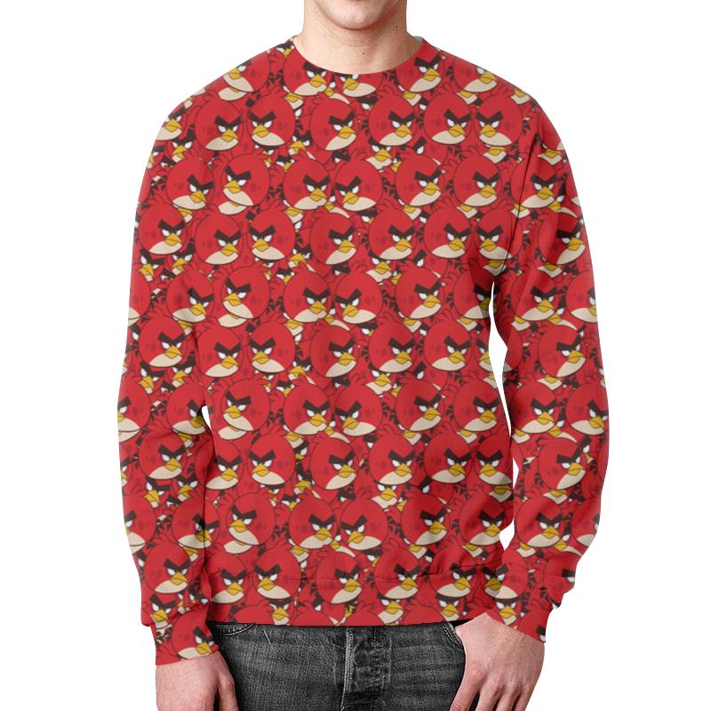 Свитшот мужской с полной запечаткой Printio Angry birds свитшот унисекс с полной запечаткой printio birds